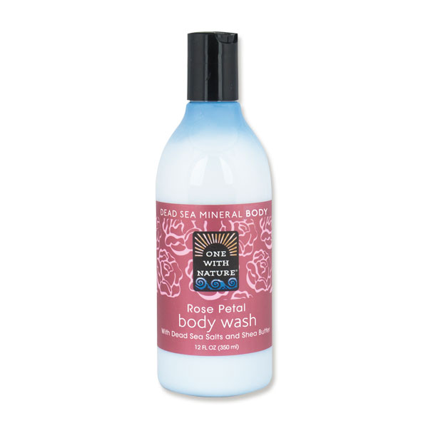 One With Nature Rose Petal Body Wash