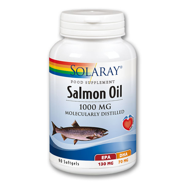 Solaray Salmon Oil - 1000mg