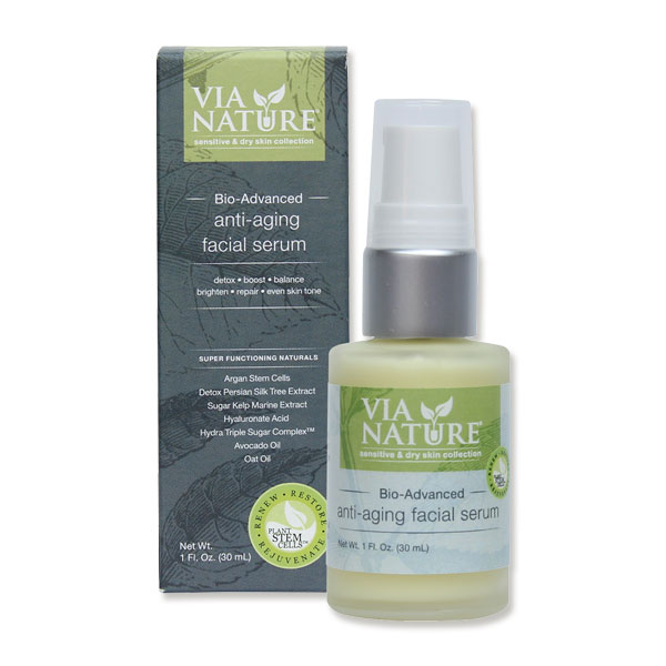 Via Nature Anti Ageing Facial Serum
